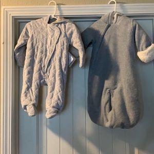 Baby bundle bubble winter suits